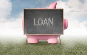 Piggy Bank Behind The Blackboard