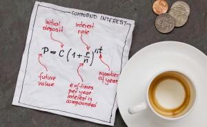 Compound Interest Money Growth Invest Save 300x184