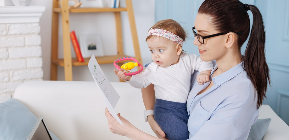 finances while on maternity leave