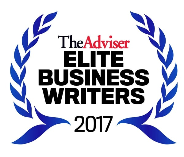 The Advisers Elite Business Writers 2017 Seal