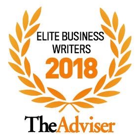 The Advisers Elite Business Writers 2018 Seal
