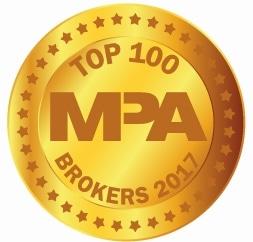 Top 100 Brokers Medal