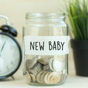 New Baby Savings Jar