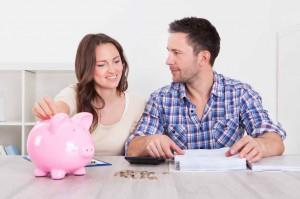 Bank Savings House Couple Save Property Meeting Budget 300x199