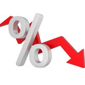 interest rates going down