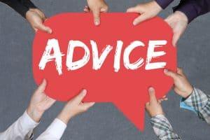 Разница между «advice» и «advise» 1
